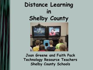 Distance Learning in Shelby County