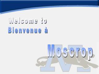 Welcome to Bienvenue à