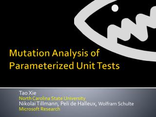 Mutation Analysis of Parameterized Unit Tests