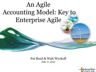 An Agile  Accounting Model: Key to Enterprise Agile