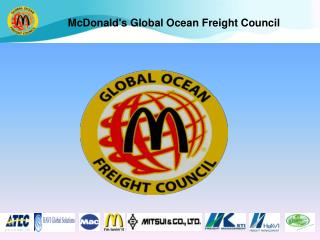 McDonalds Global Ocean Freight Council