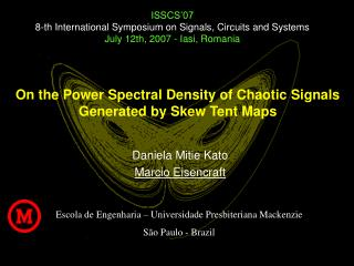On the Power Spectral Density of Chaotic Signals Generated by Skew Tent Maps