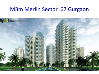 M3M Merlin Sector 67 Gurgaon