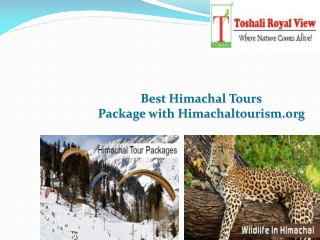 Best Himachal Tours Package with Himachaltourism.org