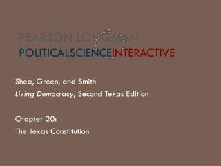 Pearson Longman PoliticalScience Interactive