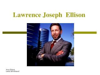 Lawrence Joseph Ellison