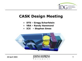 CASK Design Meeting