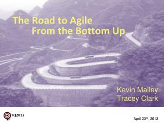 The Road to  Agile  From the Bottom Up