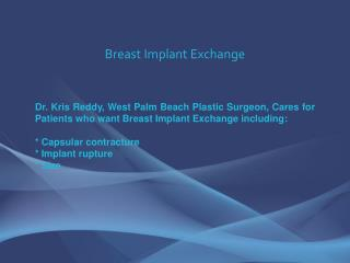 breast implant exchange (breast implant revision)
