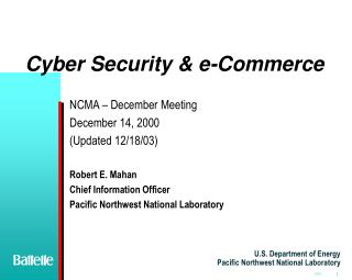 Cyber Security & e-Commerce