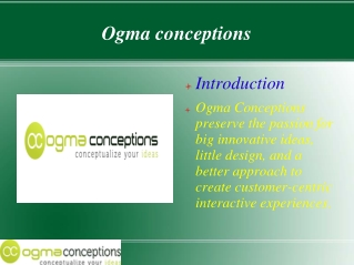Ogma Conceptions