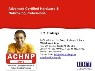 IIHT Ultadanga - Hardware and Networking Institute