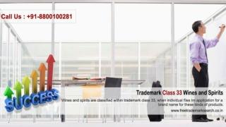 Trademark Class 33 | Wines and Spirits