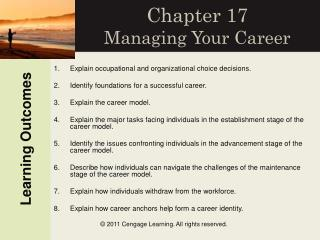 Chapter 17 Managing Your Career