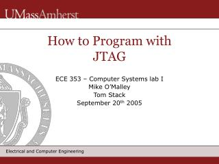How to Program with JTAG