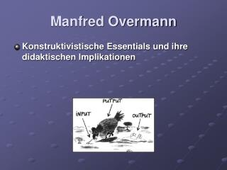 Manfred Overmann