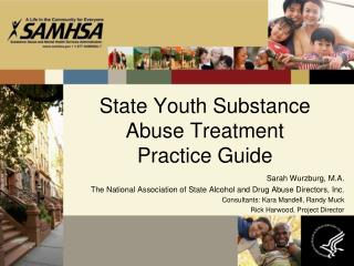 State Youth Substance Abuse Treatment Practice Guide