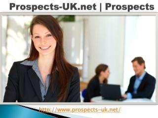 Prospects-UK.net   Prospects