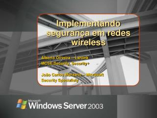 Implementando seguran a em redes wireless