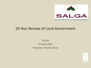 20 Year Review of Local Government