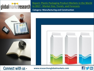 Plastic Packaging Product Markets in the World to 2017