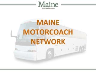 Maine Motorcoach Network - Version 2