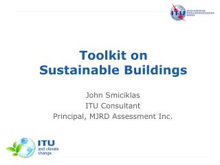 Toolkit on Sustainable Buildings