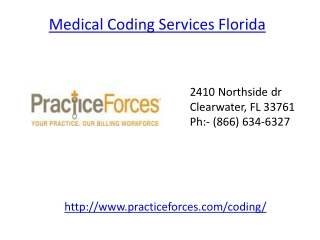 Medical coding services florida