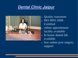 Dental clinic Jaipur