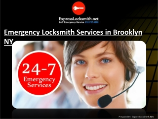 Emergency Locksmith Services in Brooklyn NY