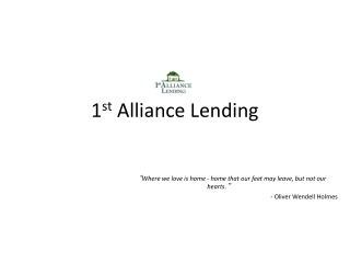 1st Alliance Lending,LLC