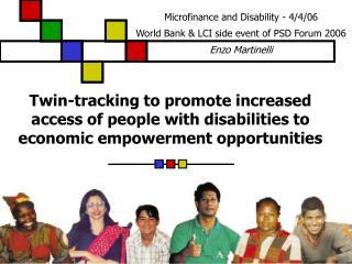 BBL presentation at the World Bank Presentation by Enzo Martinelli and Desiree Roman Washington, 3 rd November 2005
