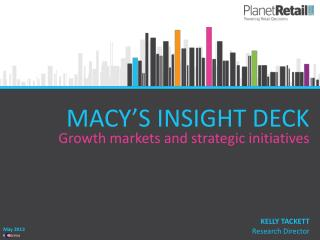 MACY'S INSIGHT DECK