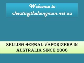 Herbal vaporizer