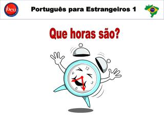 Português para estrangeiros 1