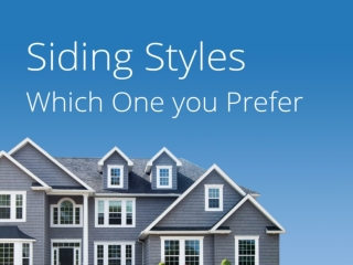 Know About the Varieties of Siding in Chicago