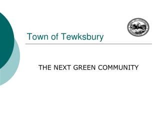 Town of Tewksbury