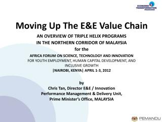Moving Up The E&E Value Chain