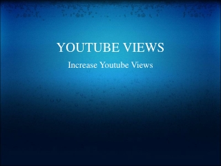 more youtube views
