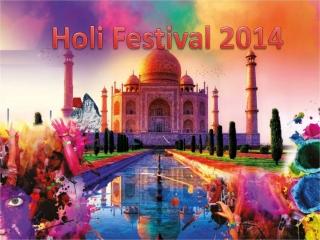 Holi Festival 2014