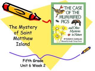 Fifth Grade Unit 6 Week 2