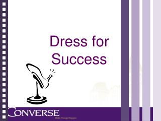 dress for success 3 essay Dress for success deciding what to wear is the first of many important decisions a business professional makes each day making this choice might not be an easy task for many individuals.