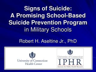 Signs of Suicide: A Promising School-Based Suicide Prevention Program in Military Schools