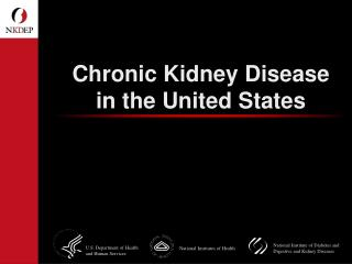 Chronic Kidney Disease in the United States