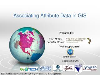 Associating Attribute Data In  GIS