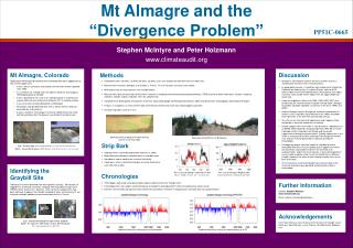 Mt Almagre and the   Divergence Problem
