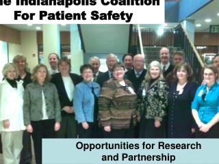 The Indianapolis Coalition for Patient Safety