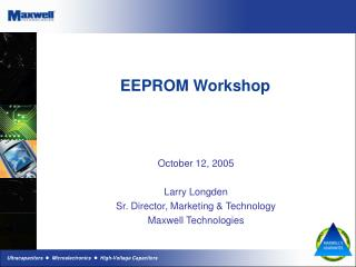 EEPROM Workshop