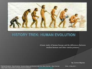 History Trek: Human Evolution