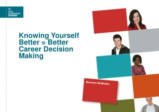 Knowing Yourself Better  Better Career Decision Making